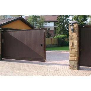 Комплект сдвижных ворот DoorHan  размером 3500 х 2100