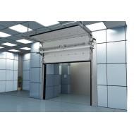 Противопожарные секционные ворота Doorhan ISD FP (EI 60) размером 2500х2500