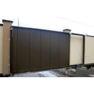 Комплект сдвижных ворот Alutech  серии ADS400 размером 4000х2080