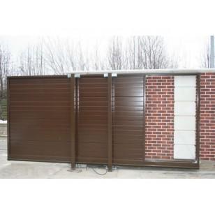 Комплект сдвижных ворот Alutech  серии ADS400 размером 4500 х 2000