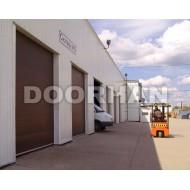 Промышленные секционные ворота DoorHan серии ISD 01 размером 3500х3500