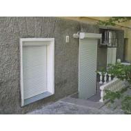 """Рольставни """"DoorHan"""" размером 1420х1770, цвет белый, профиль RH45N"""