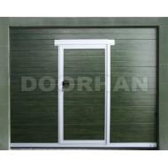 Калитка для секционных ворот встроенная V4 Doorhan