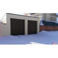 Секционные ворота  DoorHan серии RSD02 размером 2500х2100